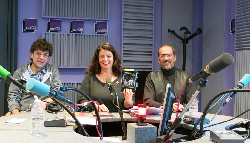 France Culture, studio 153... Mat Jacob, Aline Pailler & Jérôme Baschet