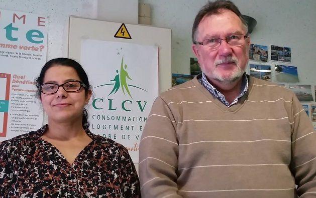 Marc George et Fatiha Naqiri, CLCV Lille