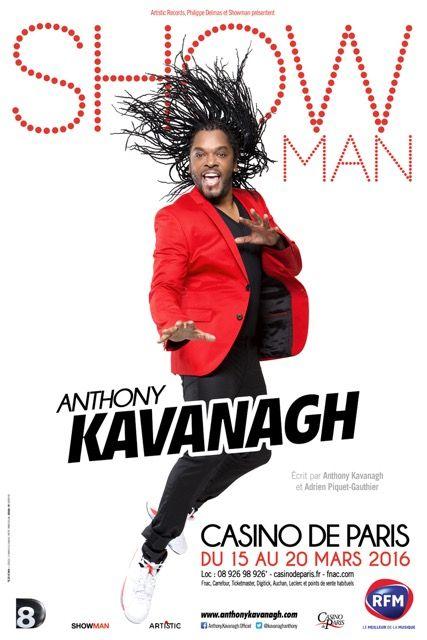 Affiche Kavanagh - Casino de Paris