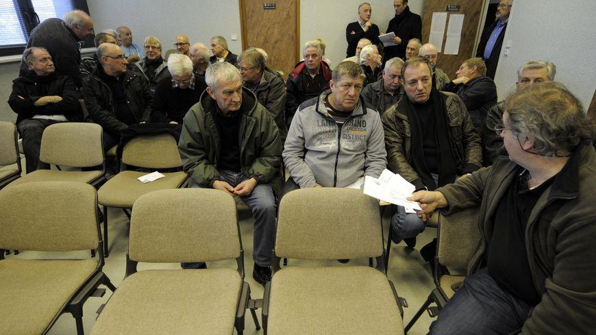 850 anciens mineurs de charbon réclame la reconnaissance de leur préjudice