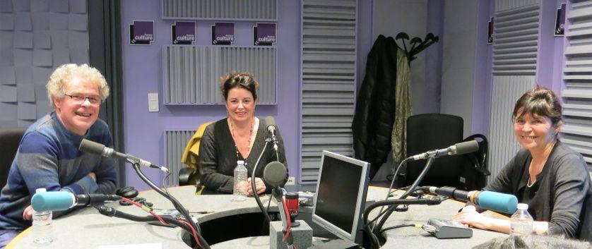 France Culture, studio 153... Philippe Dorin, Aline Pailler & Sylviane Fortuny
