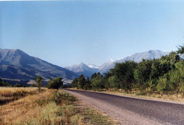 Paysage du Kirghizistan