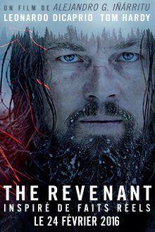 "Affiche du film ""The Revenant"""