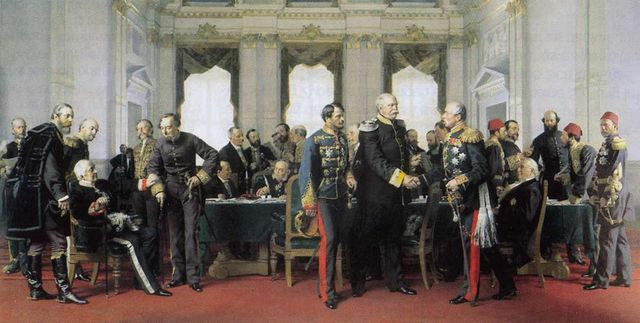 Le Congrès de Berlin du 13 juillet 1878 par Anton von Werner - 1881