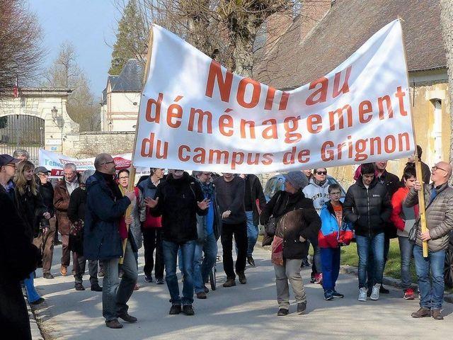 Manifestation mars dernier