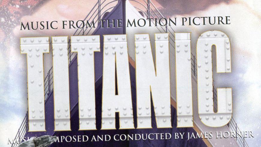 Pochette de disque de la musique de Titanic © DR