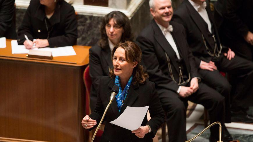 Ségolène Royal à l'assemblée nationale
