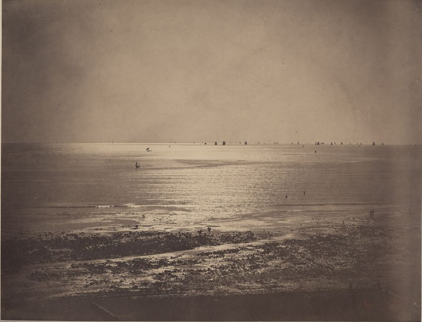 Gustave Le Gray (1820-1892), Marine, vers 1856-57