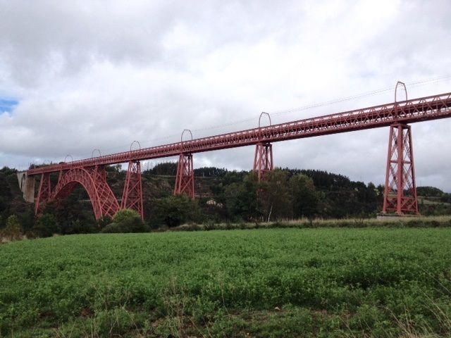 Le viaduc de Garabit dans le Cantal