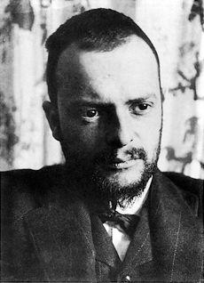 Paul Klee (32 ans), photographié en 1911 par Alexander Eliasberg