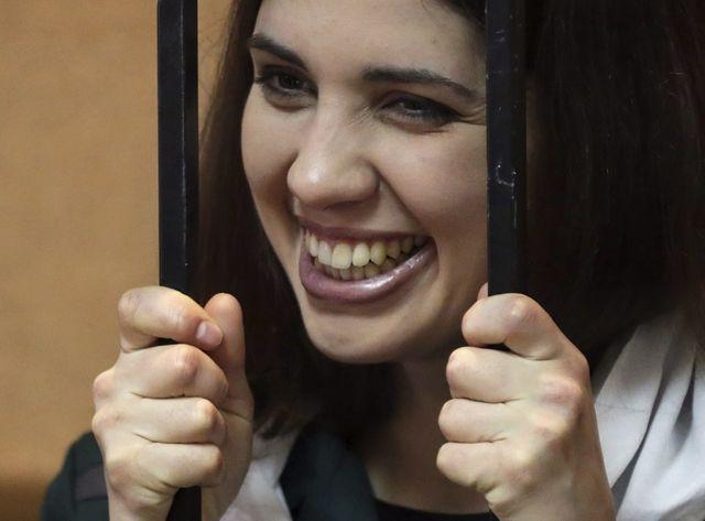 Le rire de Nadejda Tolokonnikova