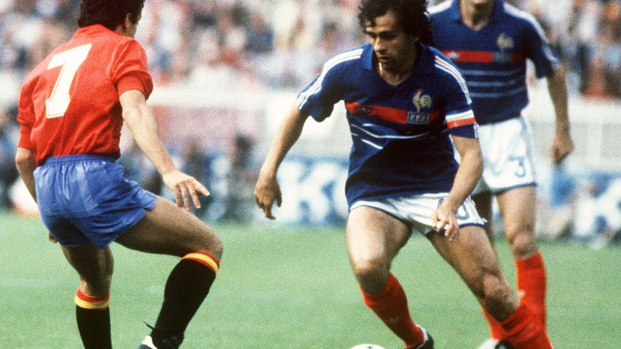 Michel Platini en 1984