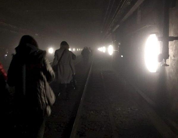 Évacuation du métro de Bruxelles