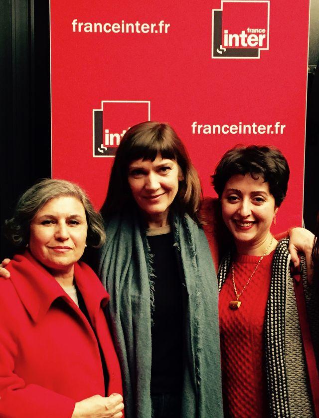 Parvin Namazi, Elise Caron et Sara Najafi