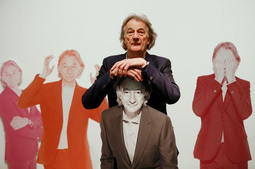 Paul Smith à l'inauguration de son exposition en novembre 2013