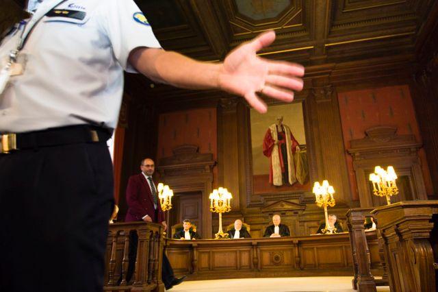 Procès de Michelle Martin, ex-femme de Marc Dutroux, à Bruxelles le 08/08/2012