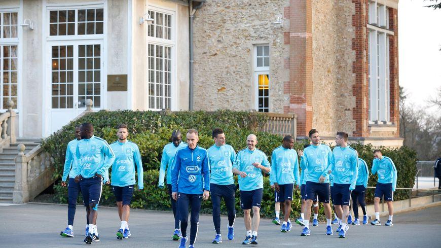 L'équipe de France reste basée à Clairefontaine, pour l'Euro 2016