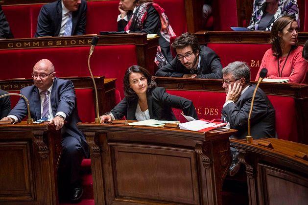 Cécile Duflot à l'Assemblée Nationale lors du vote du projet de loi ALUR sept 2013