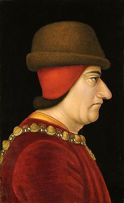 Louis XI, Portrait anonyme (15e siècle) Brooklyn Museum, New York