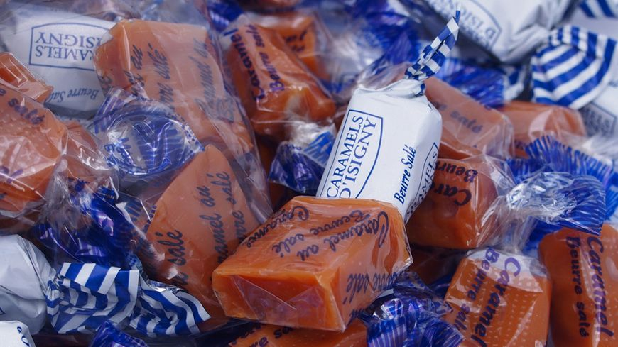 Les caramels Dupont d'Isigny