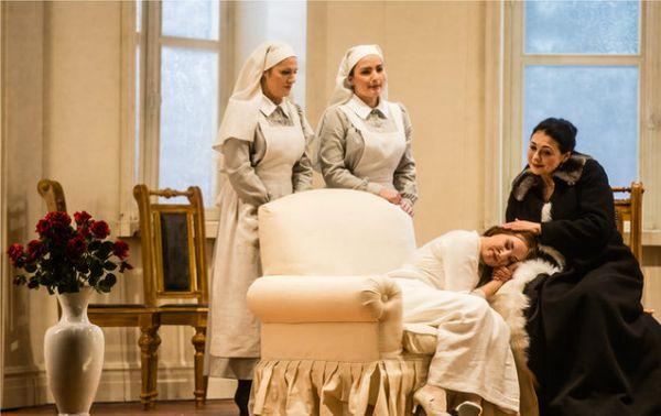 """Sonya Yoncheva dans """"Iolanta"""", mis en scène par Dmitri Tcherniakov © Agathe Poupeney/Opéra national de Paris"""