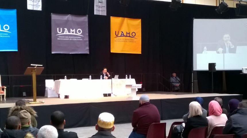 Le professeur Abdelghani Benali a animé l'une des cinq conférences. - Radio France