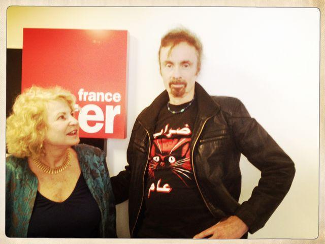 TC Boyle et Paula Jacques