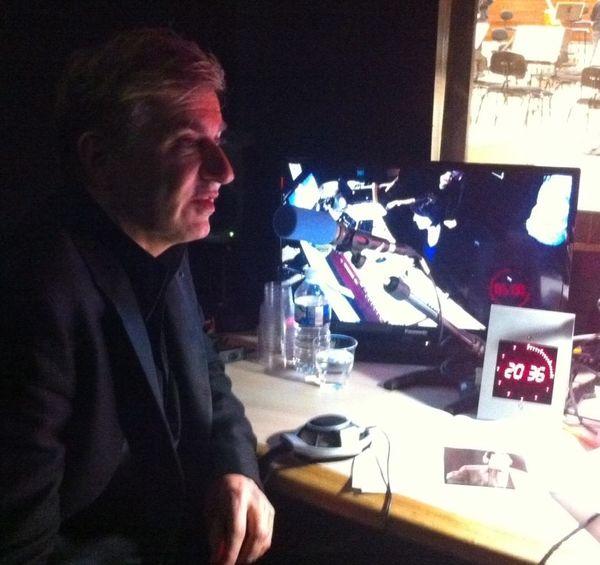 Jean-Yves Thibaudet (Cabine Auditorium Radio France - Photo : Nelly Portal)