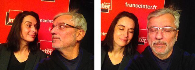 Stéphanie Janicot et Gérard Lefort