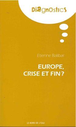 Couverture d'Europe, crise et fin ?
