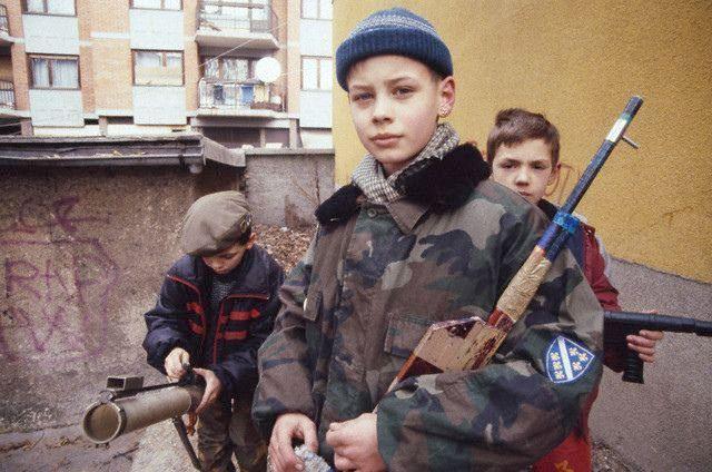 Enfants de la guerre - Sarajevo