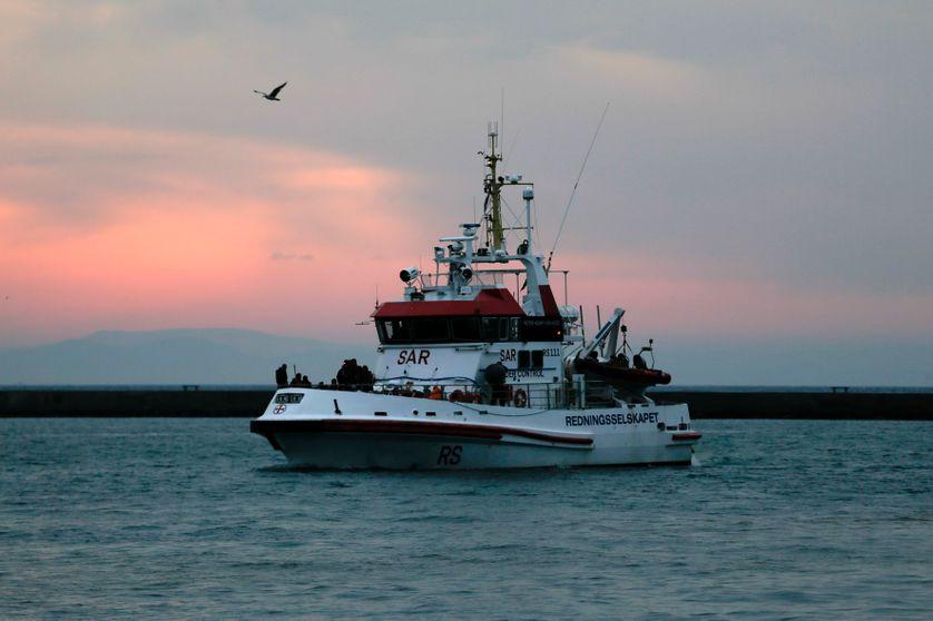 Une patrouille FRONTEX au large de Lesbos, 22 mars 2016