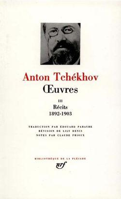 Pléiade Tchekhov Tome III