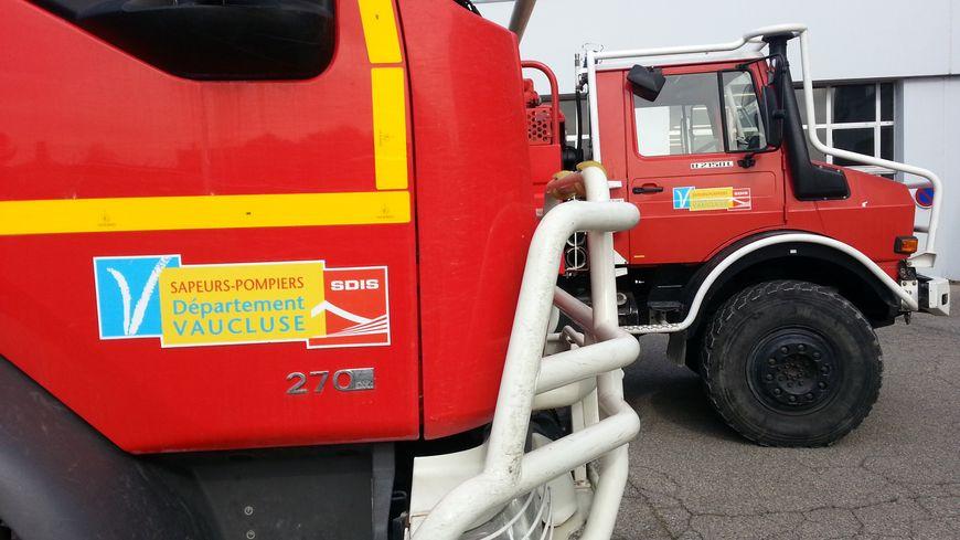 Des camions des pompiers de Vaucluse