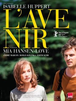 "Affiche film ""L'Avenir"" de Mia Hansen-Love"