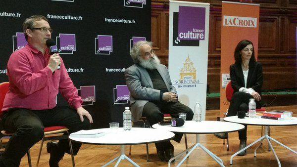 Emmanuel Laurentin, Sanjay Subrahmanyam et Béatrice Bouniol