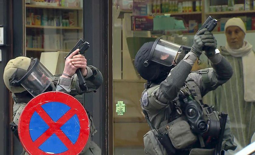 Opération qui a conduit à l'arrestation de Salah ABDESLAM à Molenbeek