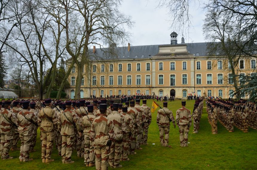 Richelieu rassemblait 500 militaires dont 300 du 2e RIMa