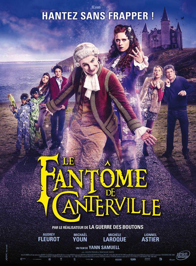 """Affiche """"Le fantôme de Canterville"""" d'Yann Samuell avec Audrey Fleurot et Michael Youn"""