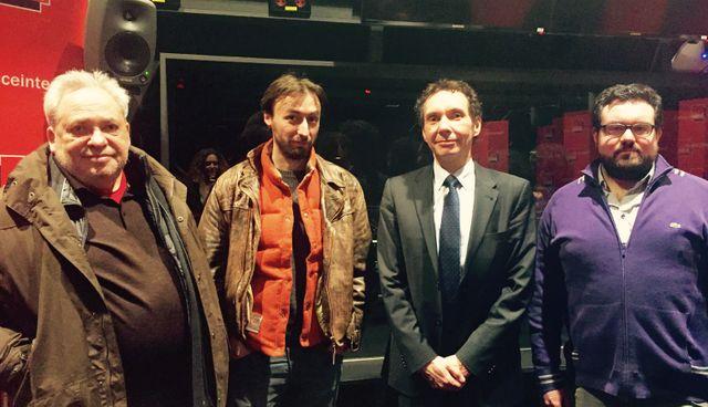 Gérard Wajcman, Nils C. Ahl, Frédéric Dupuch et Romain Nigita