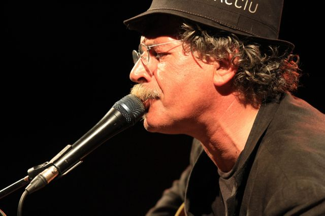 Gianmaria Testa à jazz in Ajaccio en 2012