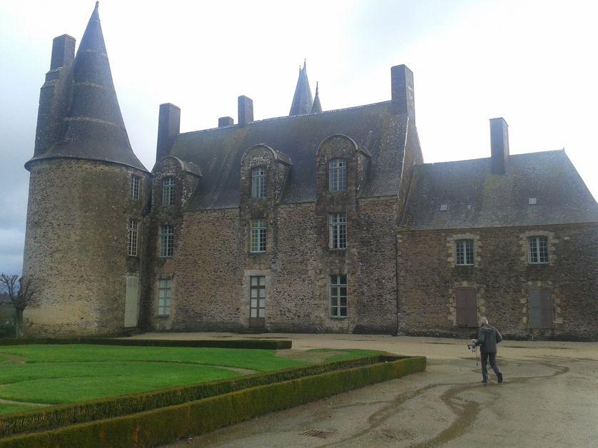 Le Château des Rochers, ancienne résidence bretonne de Madame de Sévigné.