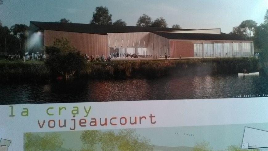 La nouvelle salle de Voujeaucourt mesurera 1750 mètres carrés.
