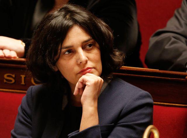 La ministre du travail Myriam El Khomri à l'Assemblée Nationale