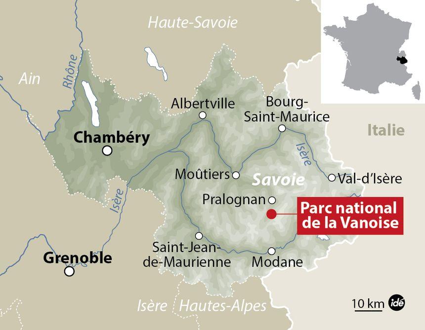 Le Parc national de la Vanoise, en Savoie