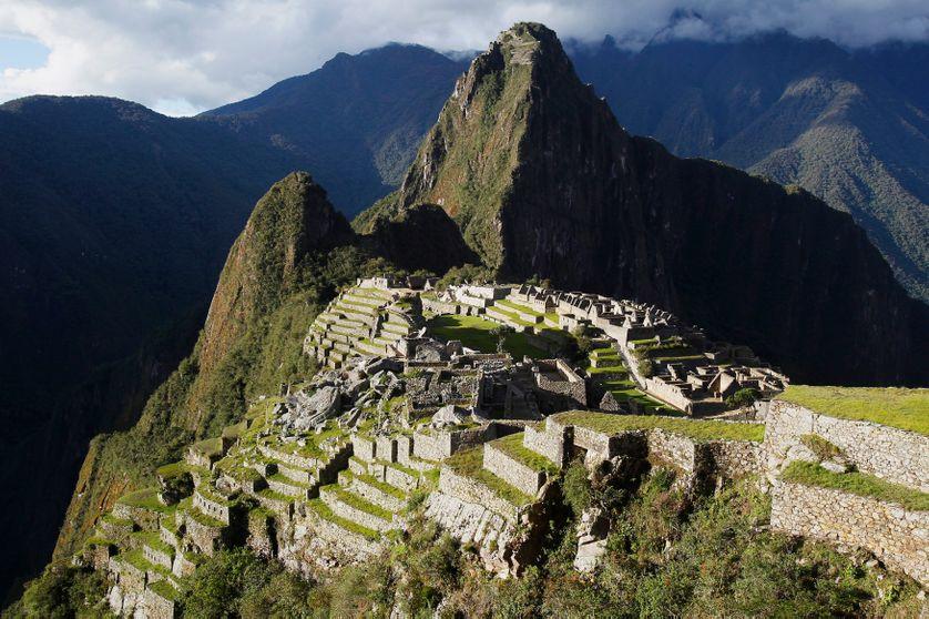 Le site le plus visité du Pérou: la citadelle inca du Machu Picchu