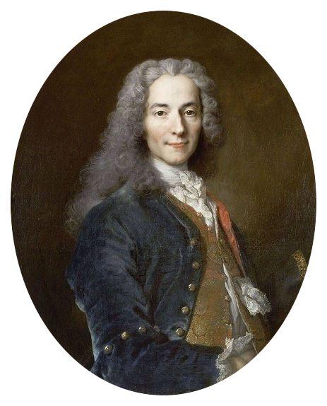 Portrait de Voltaire par Nicolas de Largillierre (vers 1724-1725)