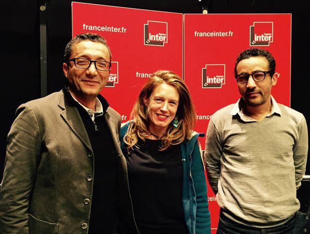 Kamal Redouani, Pascale Bourgaux et Lemine Ould Salem
