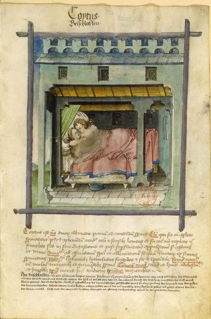 Cohitus, manuscrit rhénan, XVe siècle