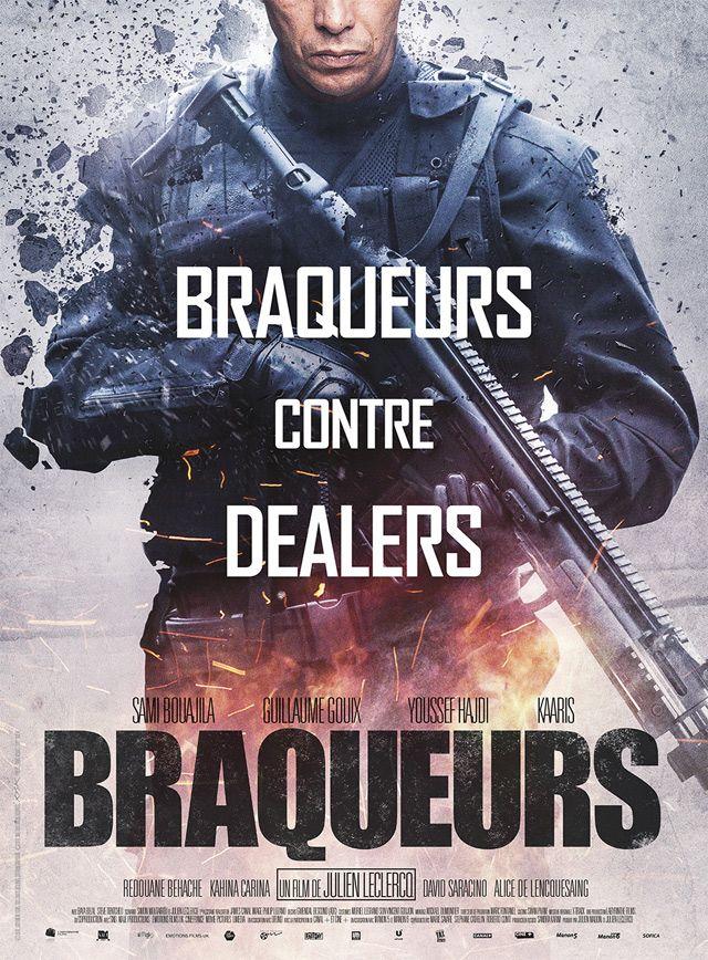 "Affiche ""Braqeurs"" de Julien Leclercq avec Sami Bouajila"